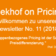 Pricing-Newsletter - Das LSDC-Modell des Pricing