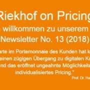 Kundenkarten Pricing-Newsletter