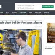 Pricing-Studie AutoPresse