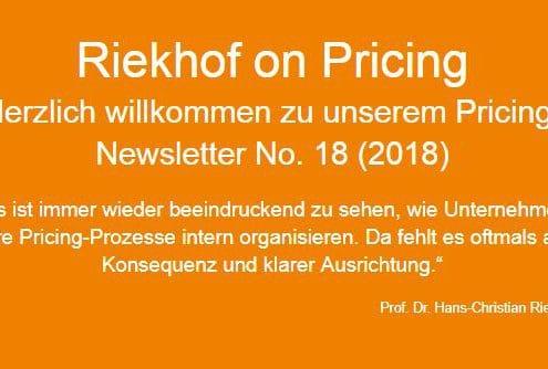 Pricing-Studie 2018