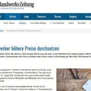 DeutscheHandwerksZeitung Preise