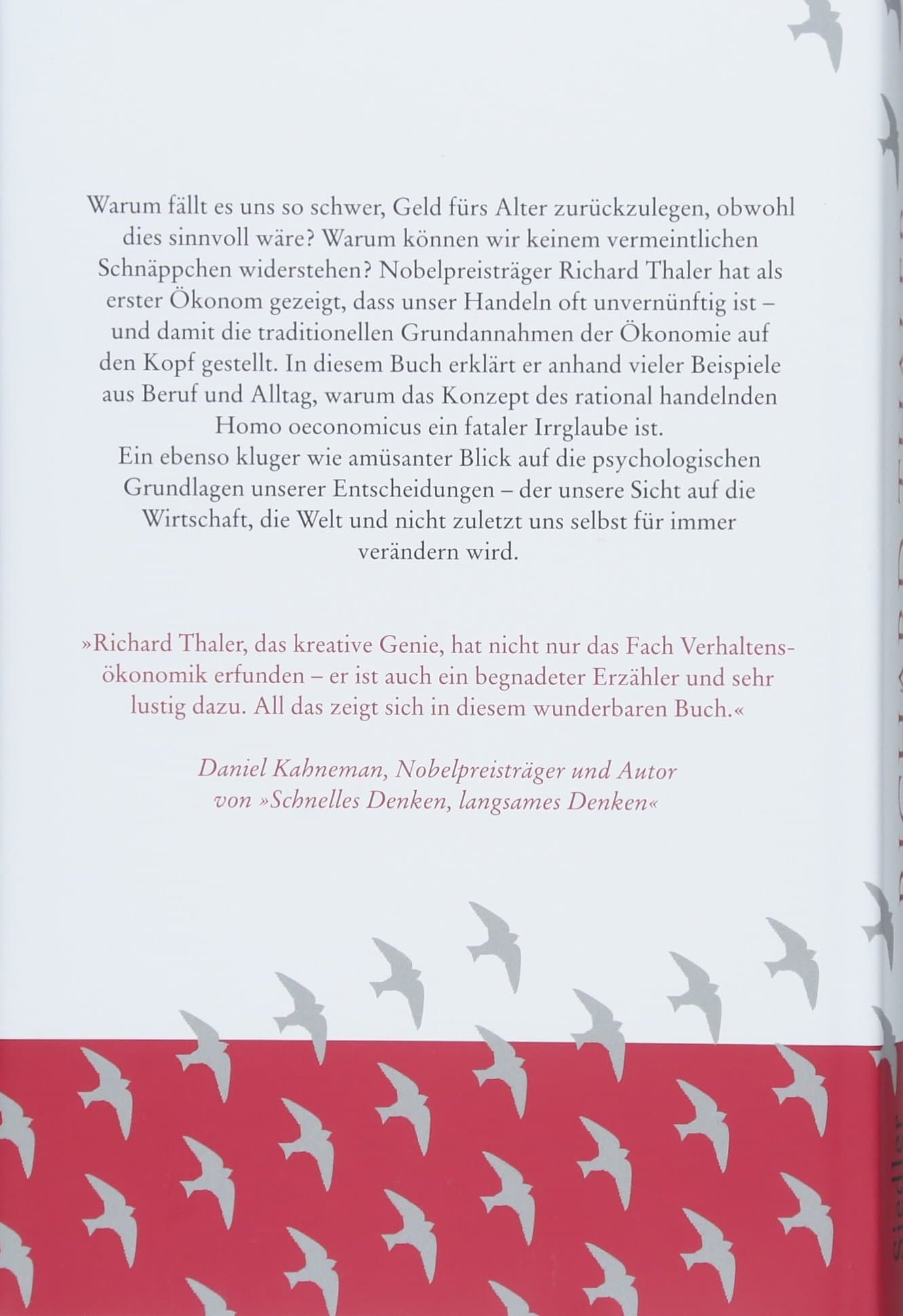 Richard Thaler - Misbehaving Cover
