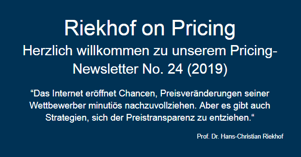 Online Pricing Research