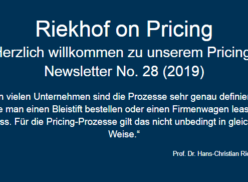 Pricing-Prozesse