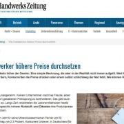 Deutsche Handwerkszeitung - Preise