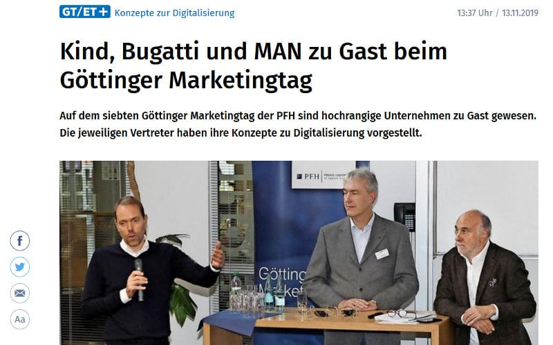 GT 7. Göttinger Marketingtag 2019