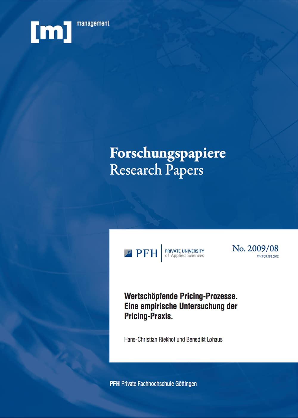 Wertschöpfende Pricing-Prozesse