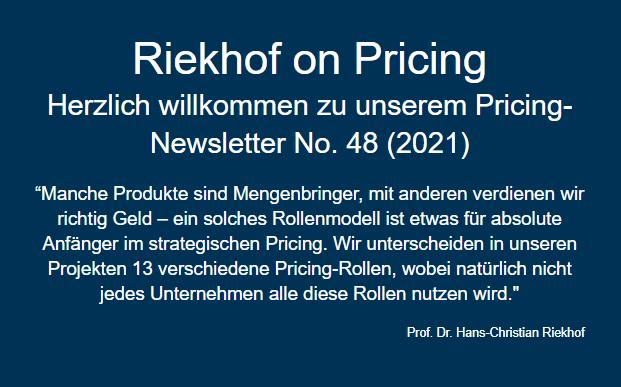 Pricing-Rollen