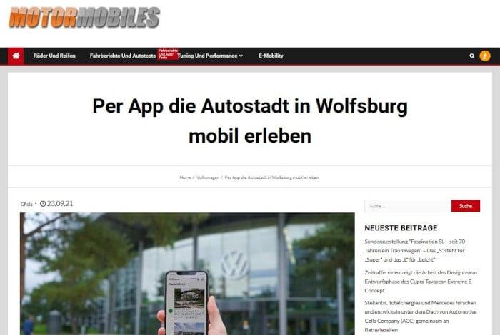 Autostadt Mobil Erleben