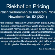 Handlungsbedarf im Pricing